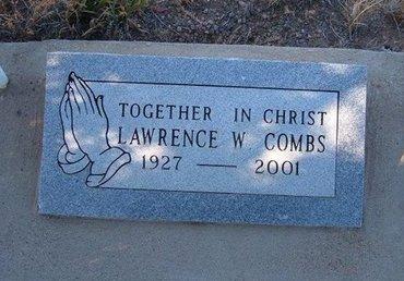 COMBS, LAWRENCE W - Baca County, Colorado | LAWRENCE W COMBS - Colorado Gravestone Photos