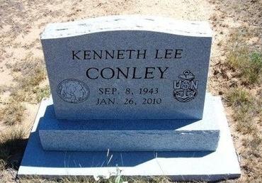 CONLEY, KENNETH LEE - Baca County, Colorado | KENNETH LEE CONLEY - Colorado Gravestone Photos