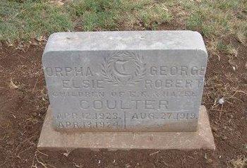 COULTER, GEORGE - Baca County, Colorado   GEORGE COULTER - Colorado Gravestone Photos