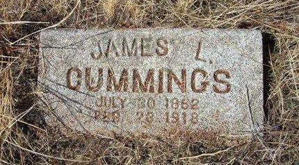 CUMMINGS, JAMES L - Baca County, Colorado | JAMES L CUMMINGS - Colorado Gravestone Photos