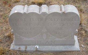 DEAN, ROBERT ELDEN - Baca County, Colorado | ROBERT ELDEN DEAN - Colorado Gravestone Photos