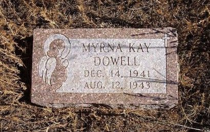 DOWELL, MYRNA KAY - Baca County, Colorado | MYRNA KAY DOWELL - Colorado Gravestone Photos