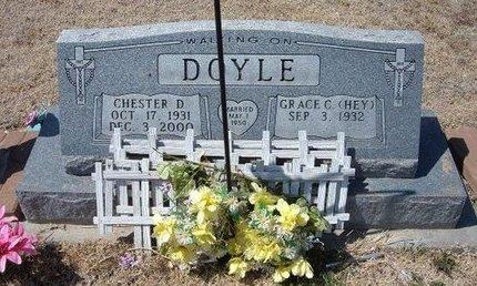 DOYLE, CHESTER D - Baca County, Colorado | CHESTER D DOYLE - Colorado Gravestone Photos