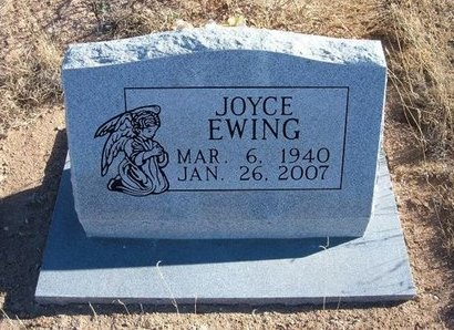 EWING, JOYCE - Baca County, Colorado | JOYCE EWING - Colorado Gravestone Photos