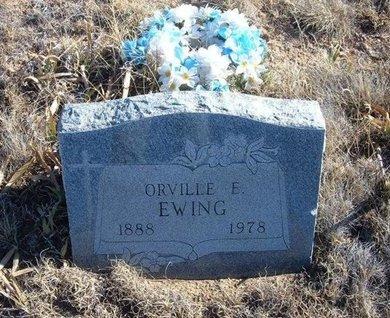 EWING, ORVILLE E - Baca County, Colorado | ORVILLE E EWING - Colorado Gravestone Photos