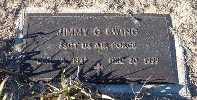 EWING (VETERAN), JIMMY GENE - Baca County, Colorado | JIMMY GENE EWING (VETERAN) - Colorado Gravestone Photos