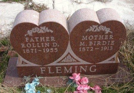 FLEMING, ROLLIN D - Baca County, Colorado | ROLLIN D FLEMING - Colorado Gravestone Photos