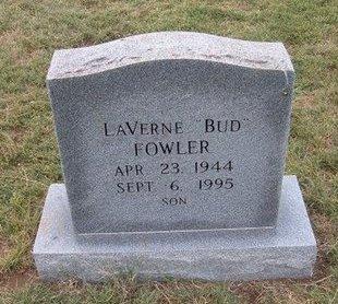 "FOWLER, ELMER LAVERNE ""BUD"" - Baca County, Colorado | ELMER LAVERNE ""BUD"" FOWLER - Colorado Gravestone Photos"