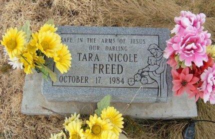 FREED, TARA NICOLE - Baca County, Colorado | TARA NICOLE FREED - Colorado Gravestone Photos