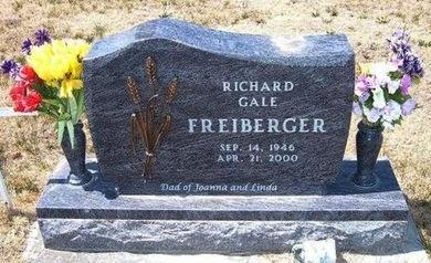 FREIBERGER, RICHARD GALE - Baca County, Colorado | RICHARD GALE FREIBERGER - Colorado Gravestone Photos