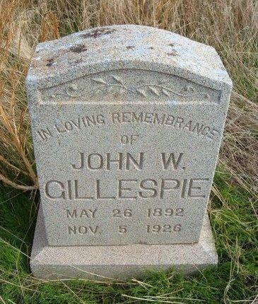 "GILLESPIE, JOHN WILLIAM ""CHARLES"" - Baca County, Colorado   JOHN WILLIAM ""CHARLES"" GILLESPIE - Colorado Gravestone Photos"