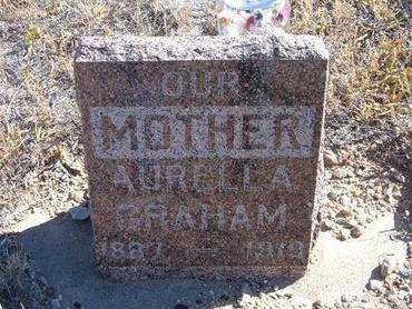 MARKLE GRAHAM, AURELLA - Baca County, Colorado | AURELLA MARKLE GRAHAM - Colorado Gravestone Photos