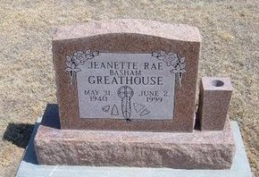 BASHAM GREATHOUSE, JEANETTE RAE - Baca County, Colorado | JEANETTE RAE BASHAM GREATHOUSE - Colorado Gravestone Photos