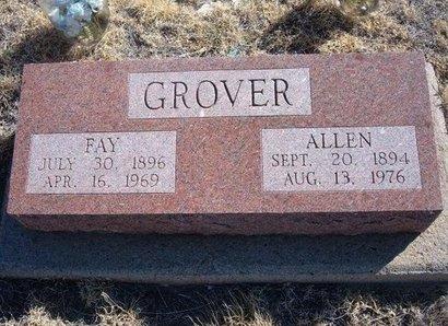 GROVER, EMMA FAY - Baca County, Colorado | EMMA FAY GROVER - Colorado Gravestone Photos