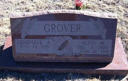GROVER, ALVIN M - Baca County, Colorado | ALVIN M GROVER - Colorado Gravestone Photos