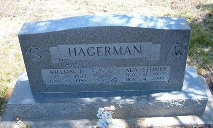 """HAGERMAN, WILLIAM D """"BILL"""" - Baca County, Colorado   WILLIAM D """"BILL"""" HAGERMAN - Colorado Gravestone Photos"""