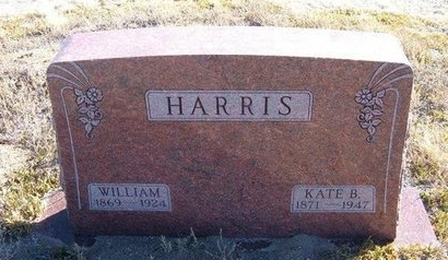 HARRIS, KATE B - Baca County, Colorado | KATE B HARRIS - Colorado Gravestone Photos
