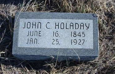 HOLADAY, JOHN C - Baca County, Colorado | JOHN C HOLADAY - Colorado Gravestone Photos