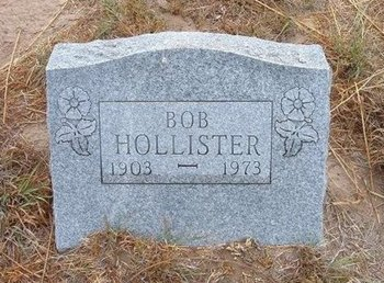 HOLLISTER, BOB - Baca County, Colorado | BOB HOLLISTER - Colorado Gravestone Photos