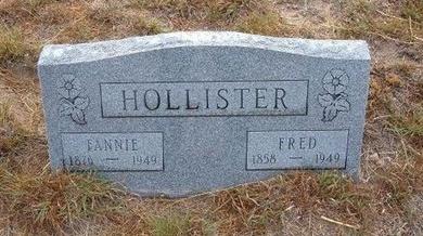 HOLLISTER, FANNIE - Baca County, Colorado | FANNIE HOLLISTER - Colorado Gravestone Photos
