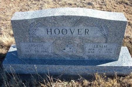 HOOVER, LESLIE LEONARD - Baca County, Colorado   LESLIE LEONARD HOOVER - Colorado Gravestone Photos