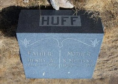 HUFF, HENRY ARRINGTON - Baca County, Colorado   HENRY ARRINGTON HUFF - Colorado Gravestone Photos