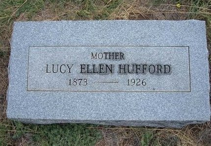 SMITH HUFFORD, LUCY ELLEN - Baca County, Colorado | LUCY ELLEN SMITH HUFFORD - Colorado Gravestone Photos