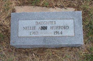 HUFFORD, NELLIE ANN - Baca County, Colorado | NELLIE ANN HUFFORD - Colorado Gravestone Photos