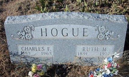 HOGUE, RUTH M - Baca County, Colorado | RUTH M HOGUE - Colorado Gravestone Photos