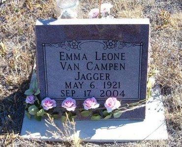 JAGGER, EMMA LEONE VANCAMPEN - Baca County, Colorado   EMMA LEONE VANCAMPEN JAGGER - Colorado Gravestone Photos