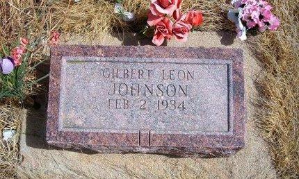 JOHNSON, GILBERT LEON - Baca County, Colorado | GILBERT LEON JOHNSON - Colorado Gravestone Photos