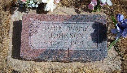 JOHNSON, LOREN DWAINE - Baca County, Colorado | LOREN DWAINE JOHNSON - Colorado Gravestone Photos