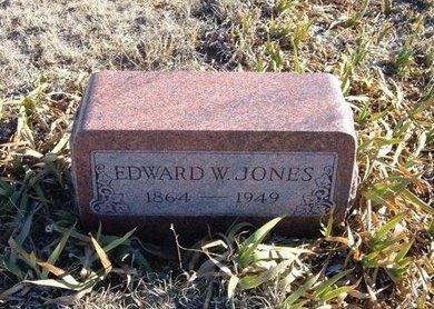 JONES, EDWARD W - Baca County, Colorado | EDWARD W JONES - Colorado Gravestone Photos