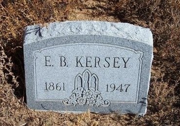 KERSEY, E B - Baca County, Colorado   E B KERSEY - Colorado Gravestone Photos