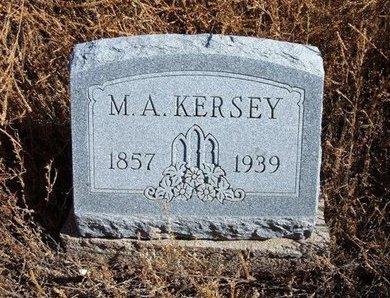 KERSEY, MISSOURI A - Baca County, Colorado | MISSOURI A KERSEY - Colorado Gravestone Photos