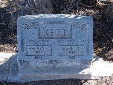 ABRAMS KETT, MABEL CLARA - Baca County, Colorado | MABEL CLARA ABRAMS KETT - Colorado Gravestone Photos