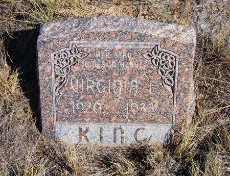 KING, VIRGINIA L - Baca County, Colorado | VIRGINIA L KING - Colorado Gravestone Photos