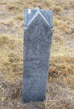 KONKEL, GLADYS - Baca County, Colorado | GLADYS KONKEL - Colorado Gravestone Photos