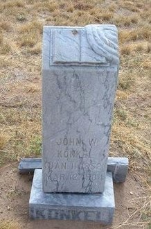 KONKEL, JOHN WILLIAM - Baca County, Colorado | JOHN WILLIAM KONKEL - Colorado Gravestone Photos