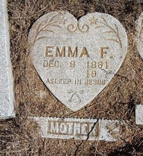 MCCLAREN MAPES, EMMA FLORENCE - Baca County, Colorado | EMMA FLORENCE MCCLAREN MAPES - Colorado Gravestone Photos
