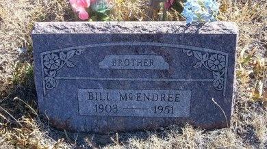 MCENDREE, BILL - Baca County, Colorado | BILL MCENDREE - Colorado Gravestone Photos