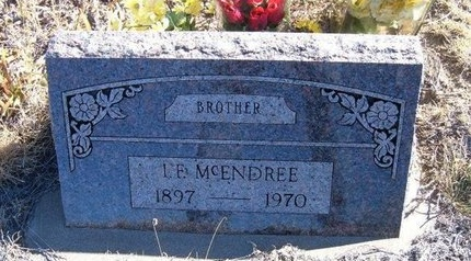 MCENDREE, I E - Baca County, Colorado | I E MCENDREE - Colorado Gravestone Photos