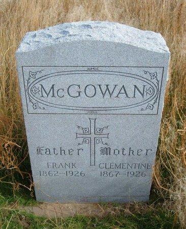 MCGOWAN, FRANK - Baca County, Colorado | FRANK MCGOWAN - Colorado Gravestone Photos
