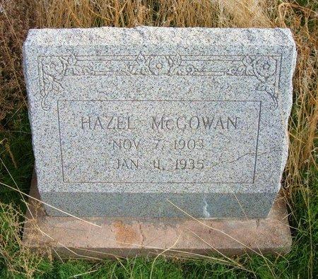 MCGOWAN, HAZEL - Baca County, Colorado   HAZEL MCGOWAN - Colorado Gravestone Photos