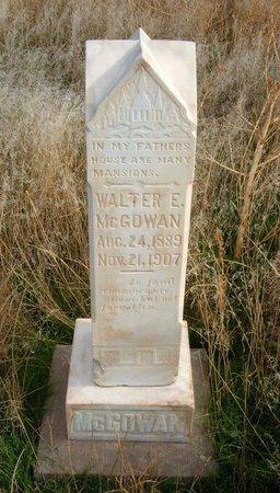 MCGOWAN, WALTER E - Baca County, Colorado | WALTER E MCGOWAN - Colorado Gravestone Photos