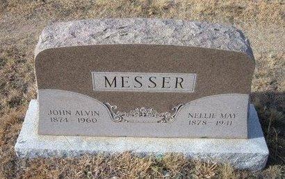 BATES MESSER, NELLIE MAY - Baca County, Colorado | NELLIE MAY BATES MESSER - Colorado Gravestone Photos