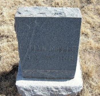 MILLER, EVELYN - Baca County, Colorado | EVELYN MILLER - Colorado Gravestone Photos