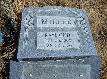 MILLER, RAYMOND - Baca County, Colorado | RAYMOND MILLER - Colorado Gravestone Photos