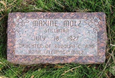 MOLZ, MAXINE - Baca County, Colorado | MAXINE MOLZ - Colorado Gravestone Photos