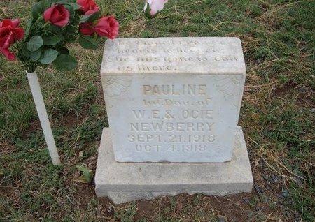 NEWBERRY, PAULINE - Baca County, Colorado | PAULINE NEWBERRY - Colorado Gravestone Photos